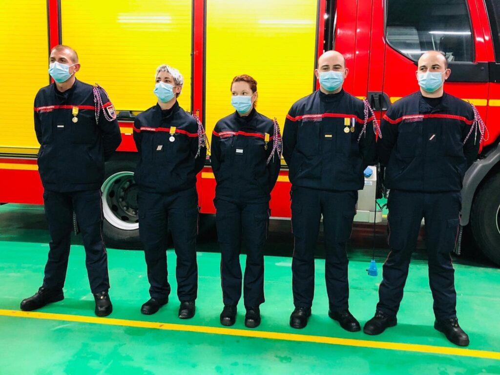 Pompiers de Salbris médaillés