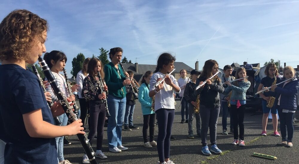 Concert extérieur école de musique de Salbris