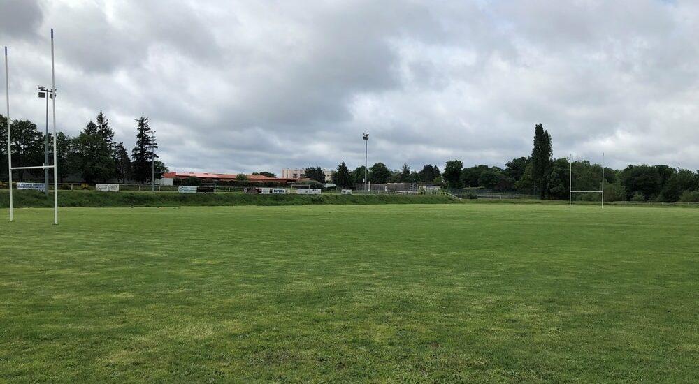 Vue stade Salbris
