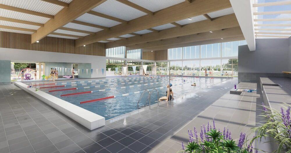 Future piscine Salbris