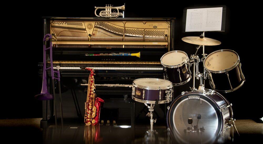 Instruments de l'école de musique de Salbris
